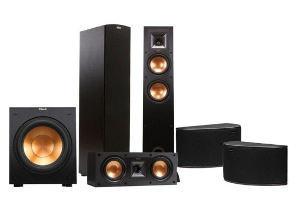 hifiguru reproduktory klipsch r26 f 5 1 set. Black Bedroom Furniture Sets. Home Design Ideas